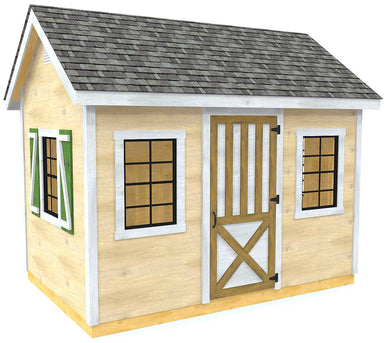 Mattie Shed Plan (2‑Sizes)