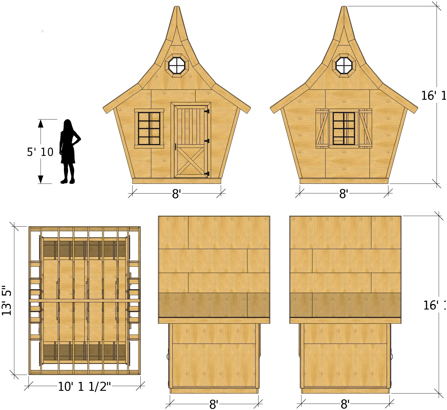 Great Rosemary Shed Plan · Rosemary Shed Plan