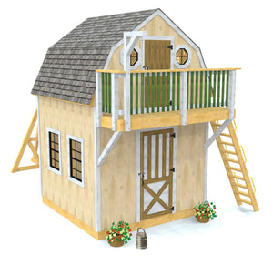 Playhouse & Shed Plan