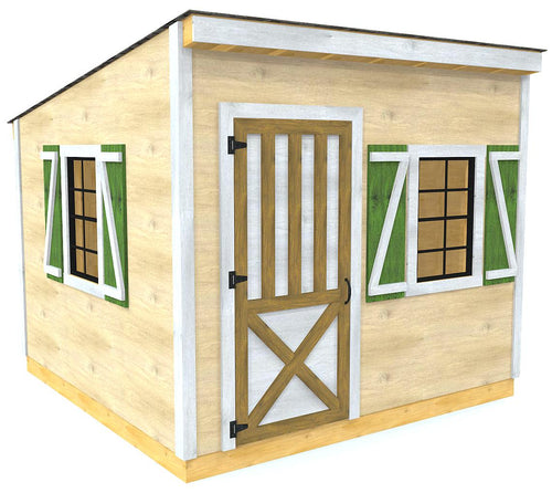 Victor Shed Plan (2‑Sizes)