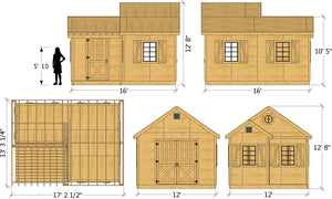 Wallace Shed Plan