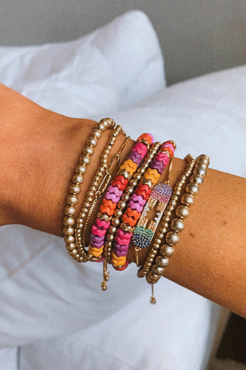 Goldie Beaded Bracelet Set