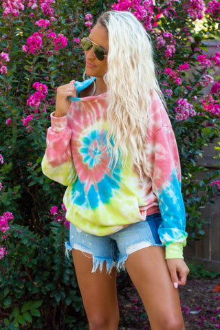 Tie Dye Pocket Top