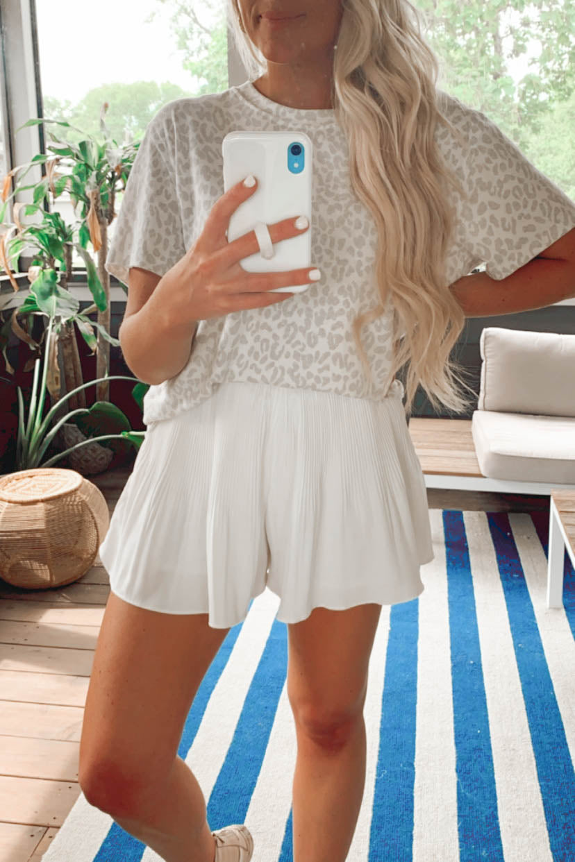 Pleats to Meet You Shorts