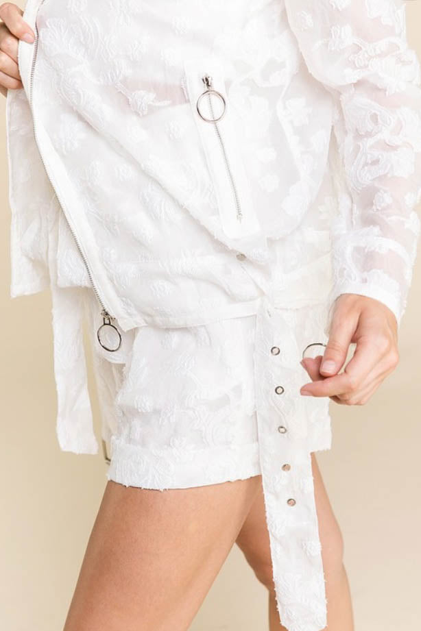 Sheer Thing Moto Jacket