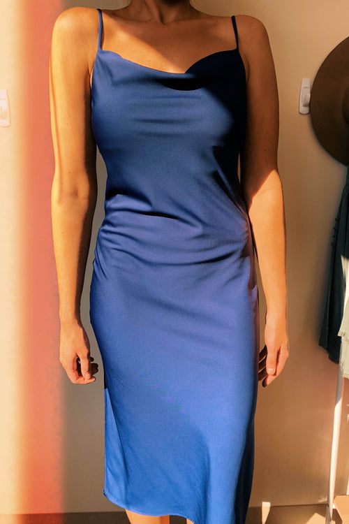 Gigi Navy Dress