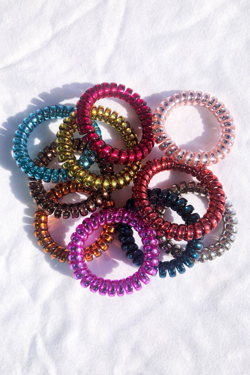 Spiral Out Hair Ties