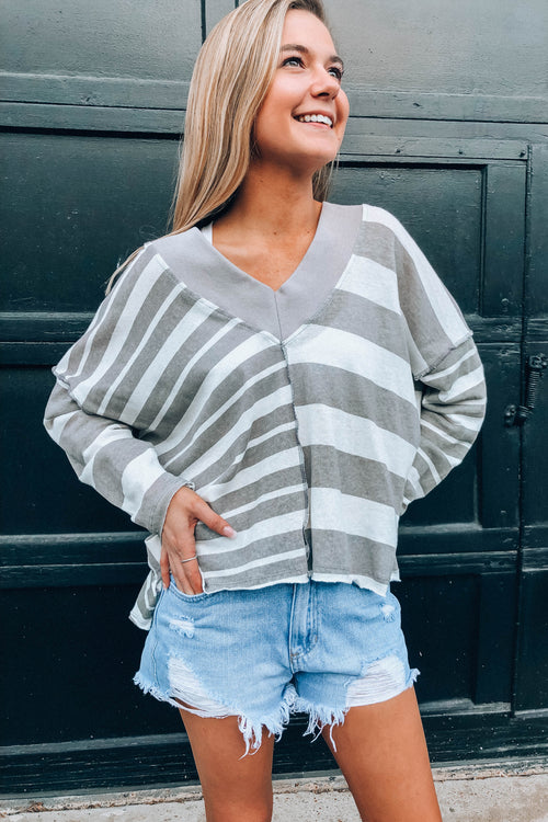 Keep it Cool Stripe Top