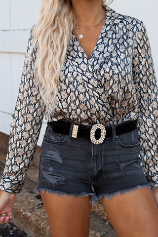 Good Time Frayed Top