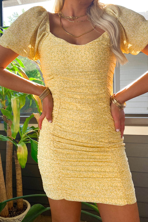 Brighter than Sunshine Dress