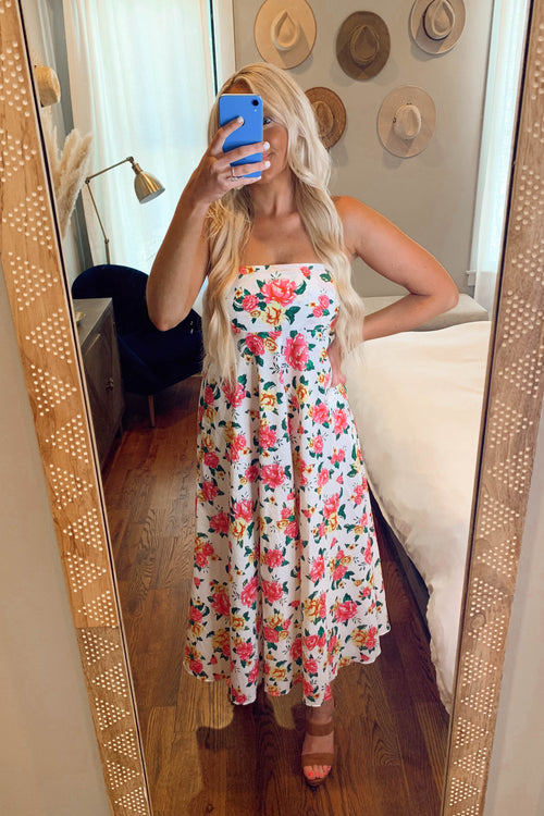 Flower Power Pocket Dress