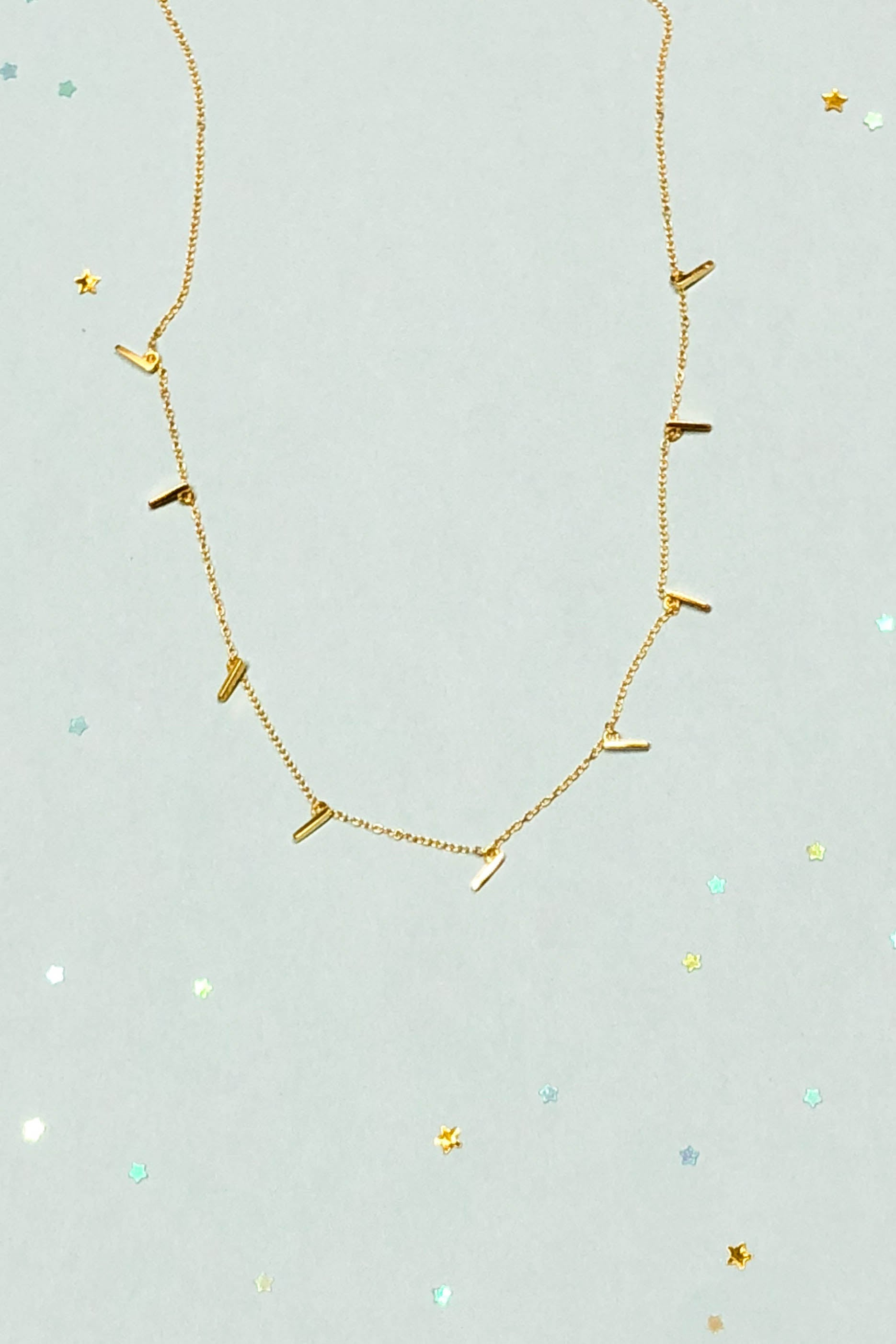 necklace hammered necklaces handmade bar gold jewelry mini