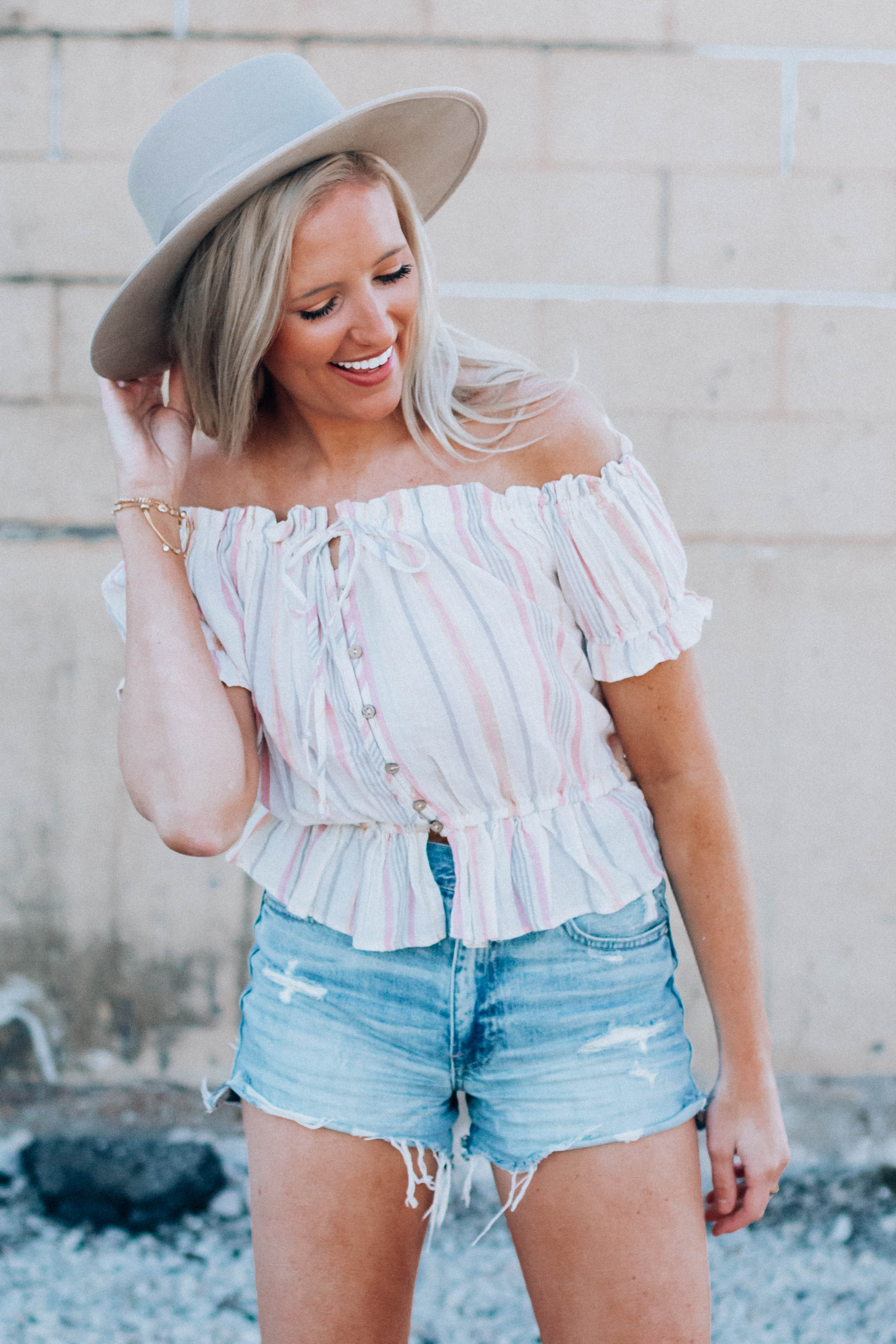 Sunset Lover Stripe Top