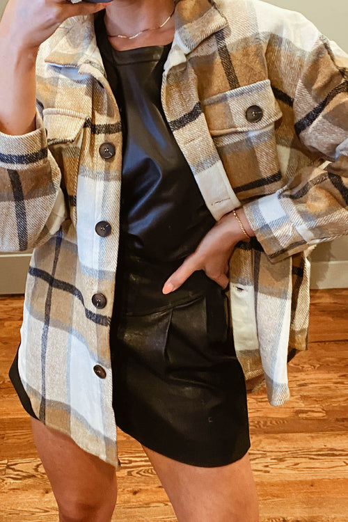 Alpine Plaid Jacket