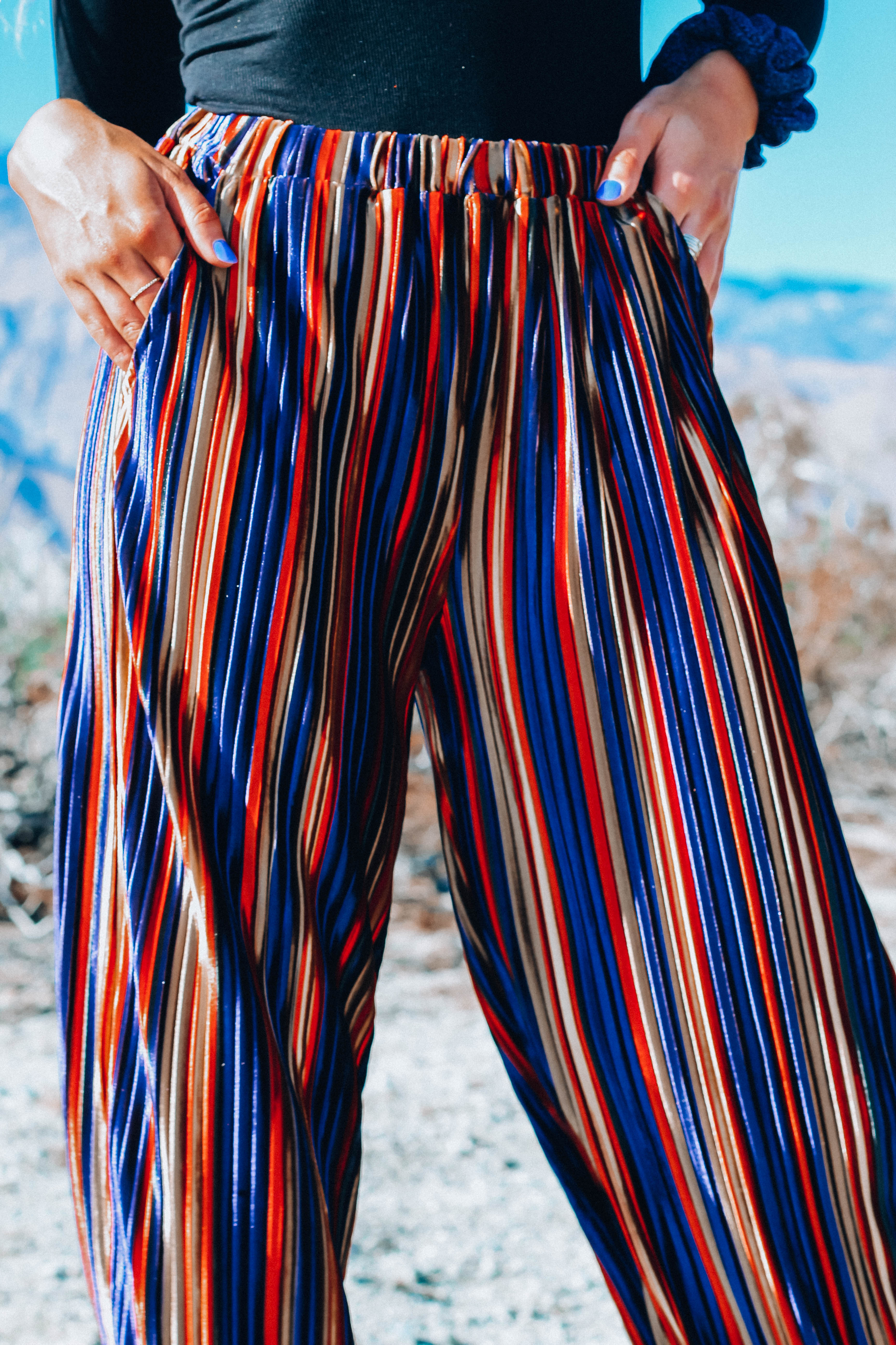Striped Party Pants