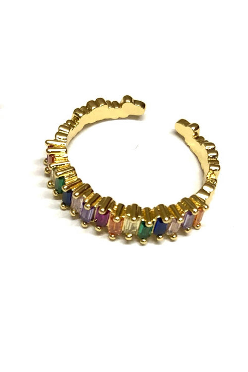 Adjustable Rainbow Ring