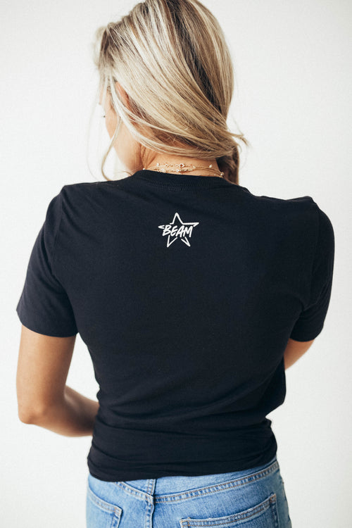 Black Shine Bright Tee