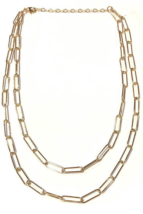 Sasha Double Chain Necklace