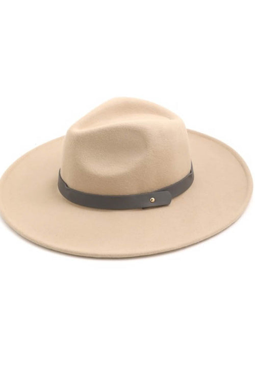 Malibu Leather Band Hat
