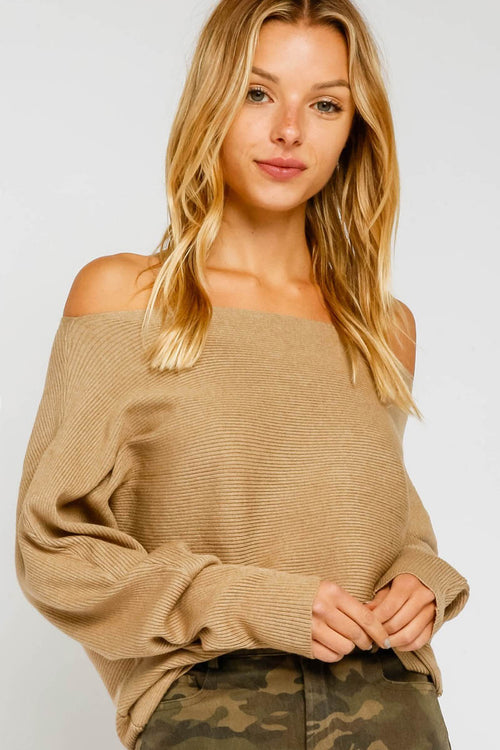 So Soft Camel Sweater