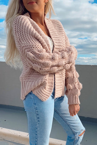 Weekend Getaway Cropped Cardigan Sweater