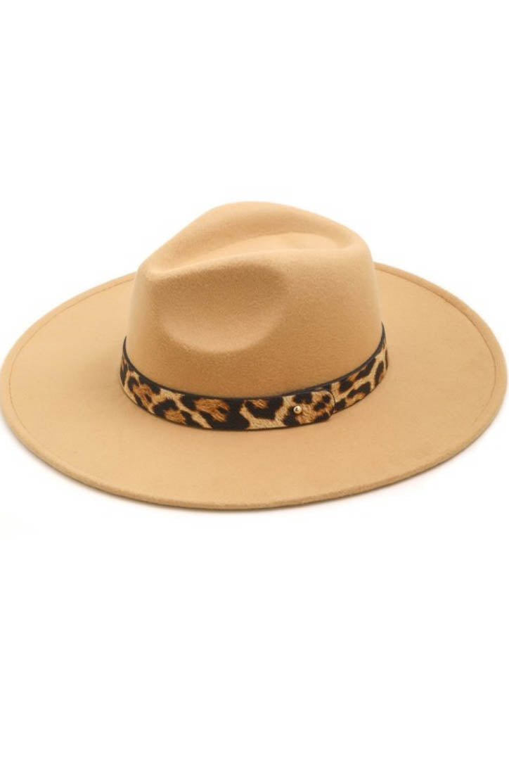 Palm Springs Leopard Hat