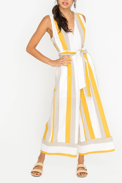Hello Sunshine Pocket Jumpsuit