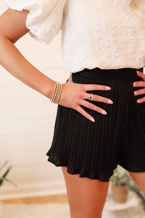 Pleat Party Shorts