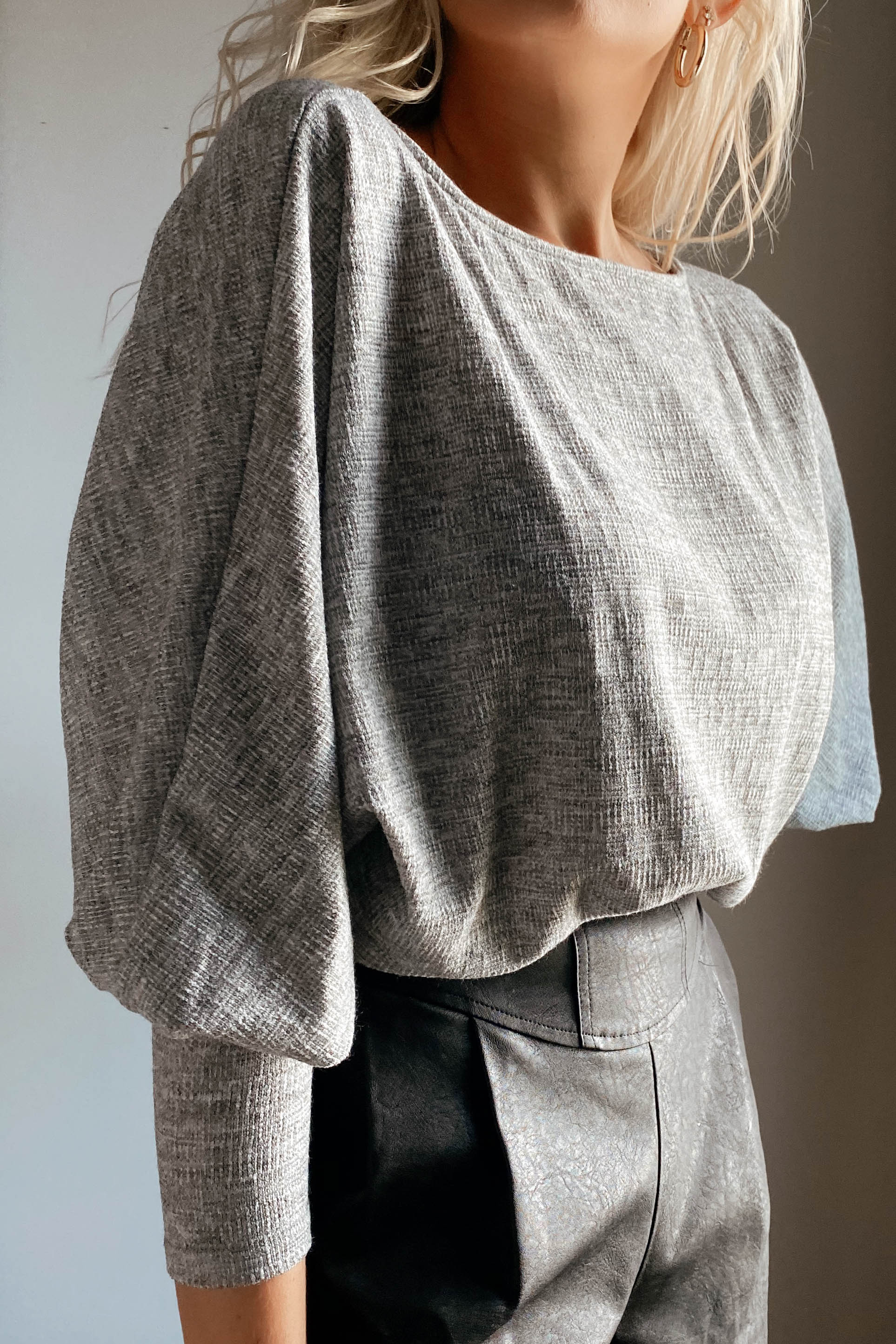 Polly Grey Sweater