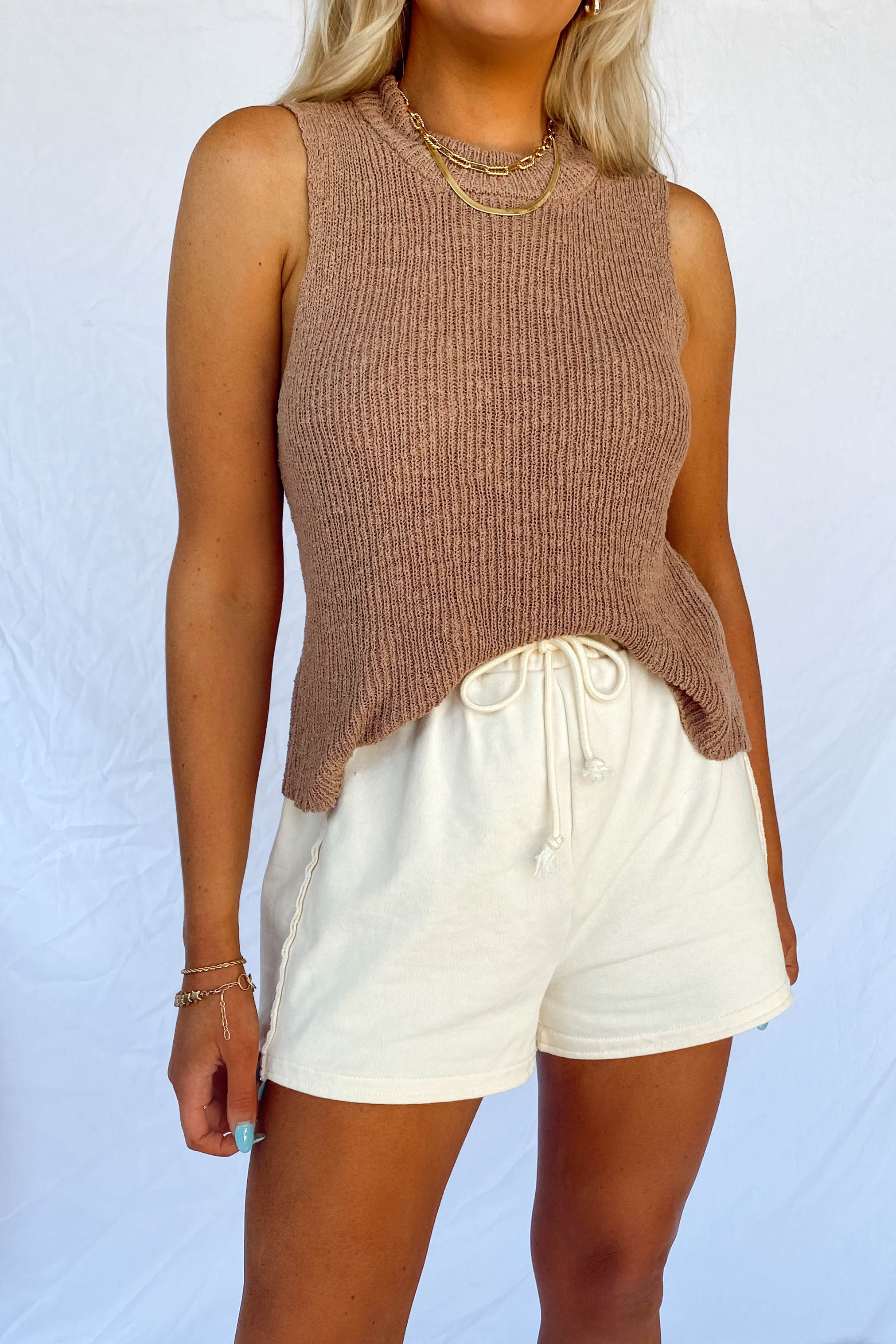 Mocha Beachside Sweater