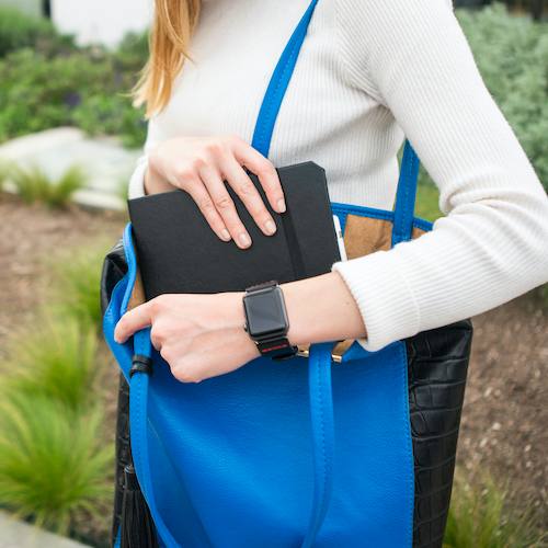 Classic Black iPad Case and Apple Watch Band