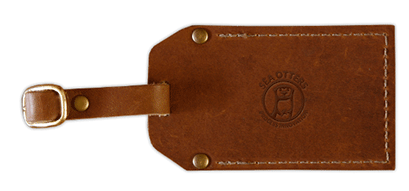 Branded Leather Luggage Tag