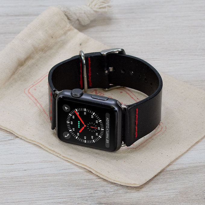 Classic Leather Apple Watch Band