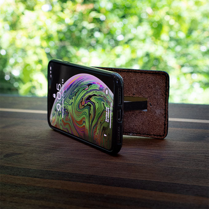 Leather Kickstand iPhone CardCase