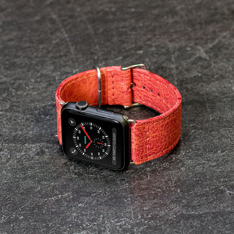 Lux Leather Apple Watch Bands