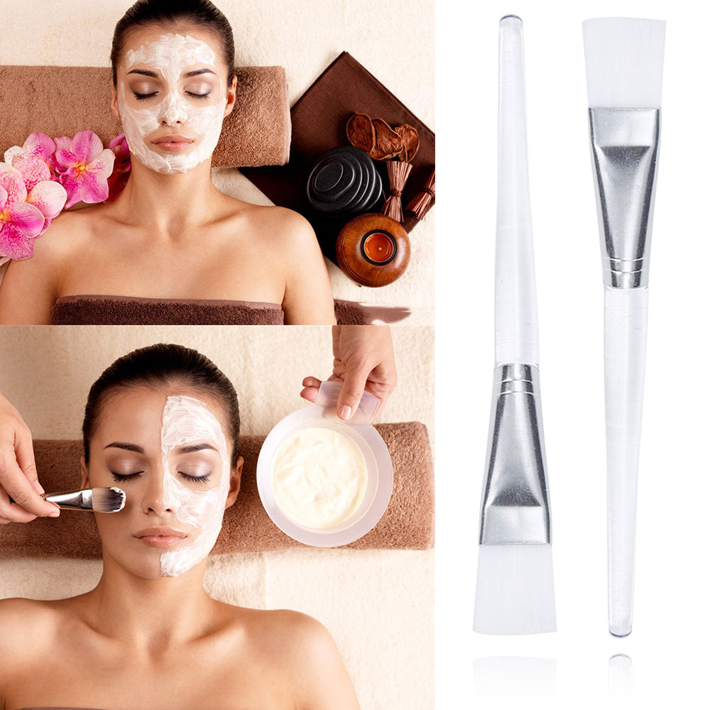 Soft Facial Mask & Makeup Brush