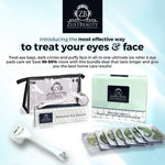 Ice Roller and Collagen Under Eye Pads Set (30pairs)