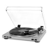 Image of Victrola Pro USB Record Player with 2-Speed Turntable and Dust Cover, Silver