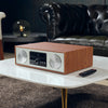 Image of Victrola 30 Watt Wooden Bluetooth Microsystem with CD, USB and Radio