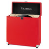 Image of Victrola Storage Case for Vinyl Turntable Records, Red