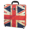 Image of Victrola Storage Case for Vinyl Turntable Records, UK Flag