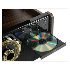 Victrola Empire 6-In-1 Bluetooth Turntable Music Centre