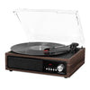 Image of Victrola 3-in-1 Bluetooth Record Player with Built in Speakers and 3-Speed Turntable, Espresso