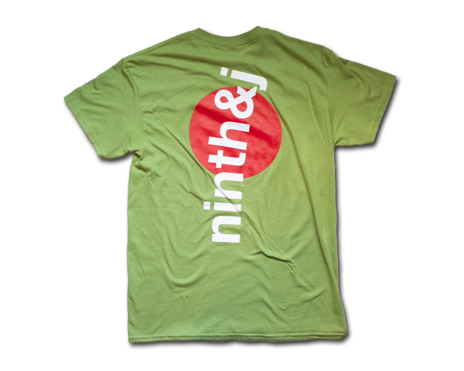 rising sun tee in green