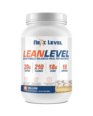 LEANLEVEL Vanilla Creme Meal Replacement