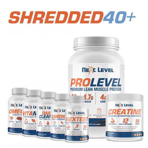 Men's Shredded Over 40 Stack
