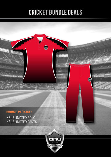 ONU CRICKET - BRONZE PACKAGES