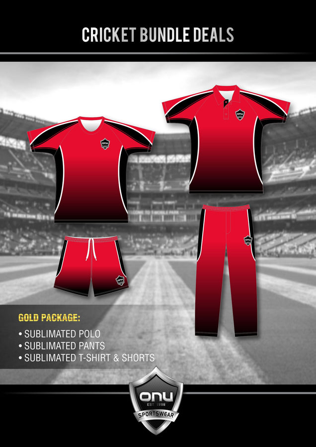 ONU CRICKET - GOLD PACKAGES