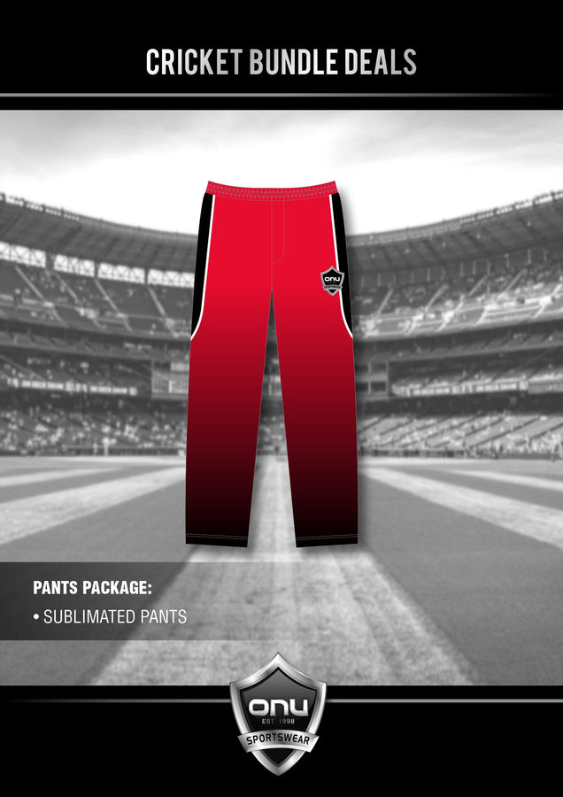 ONU CRICKET - PRO PLAYING PANTS