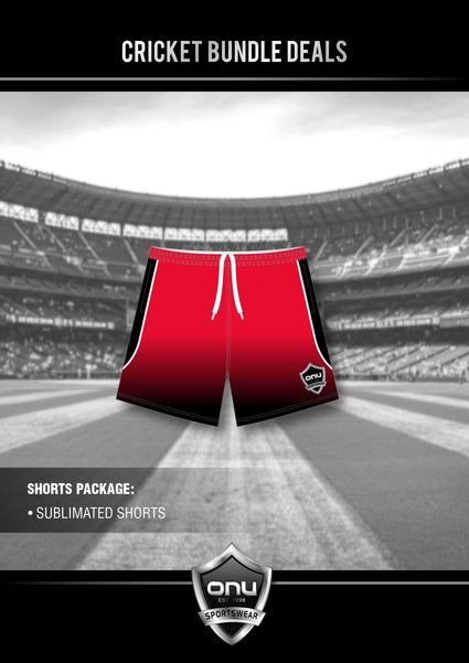 ONU CRICKET - PRO TRAINING SHORTS